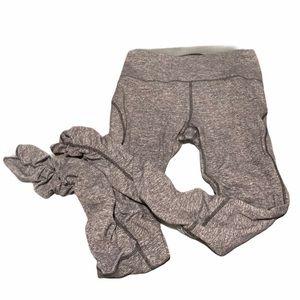 RARE lululemon Cinched bottom leggings